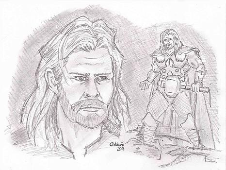 Chris  DelVecchio - Thor Odinson- God of Thunder