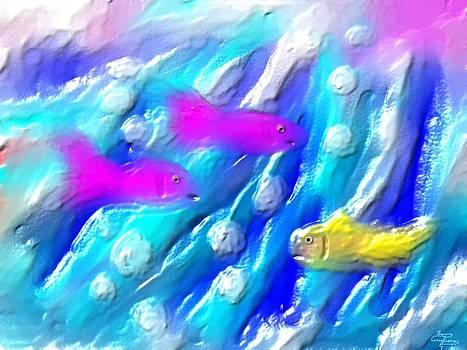 Three Fish by Larry Cirigliano