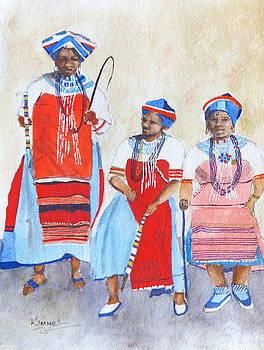 Three Ladies of the Tonga Tribe by Harold Kimmel