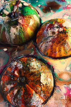 Three sibling fruit by Betul Salman