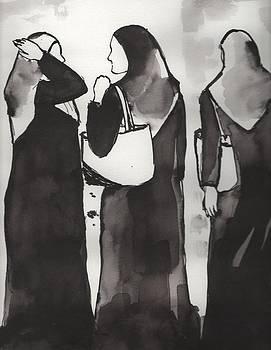 Three women by Manjula Prabhakaran Dubey