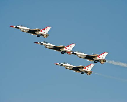 Thunderbirds Fly by Tom Dowd