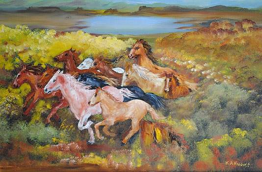 Thundering Hooves by James Higgins