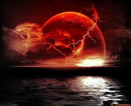 Thunderstorm magic by Nicole Champion