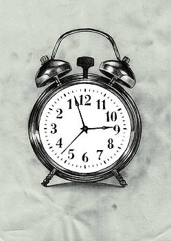 Thwarted Clock by Di Fernandes
