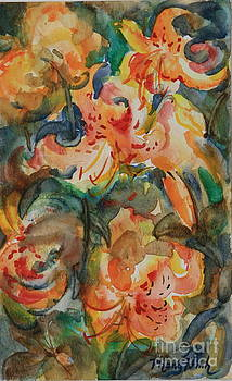 Tiger Lily 1 by Phong Trinh