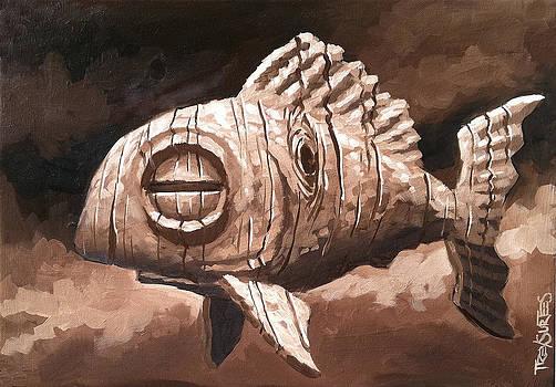 Tiki Fish by Trey Surtees