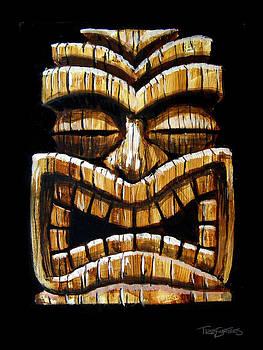 Tiki Head by Trey Surtees