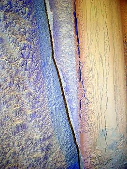 Tile Saw Mud Stalactites by Jason Nelson
