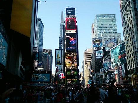 Times Square by Carlos Davila