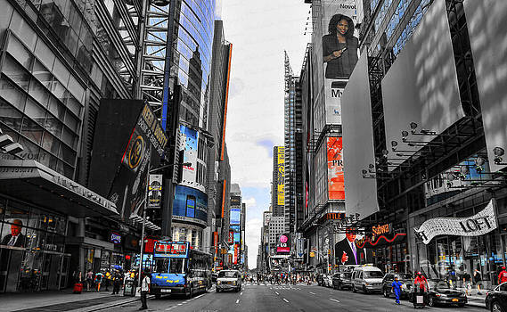 Chuck Kuhn - Times Square II