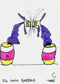 Tis Twin Barrels by Tis Art