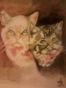 Tom And Jerry by Byron Holman