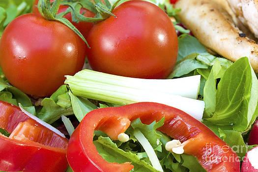 Simon Bratt Photography LRPS - Tomato salad close up