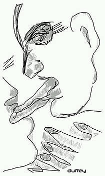 DOUG  DUFFEY - TONGUE KISS