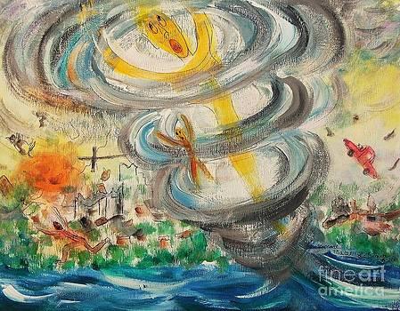 Tornado by Suzanne  Marie Leclair