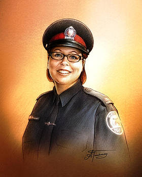 Toronto Police Constable Wendy Drammond by Alex Tavshunsky