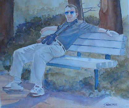 Jenny Armitage - Tourist at Rest