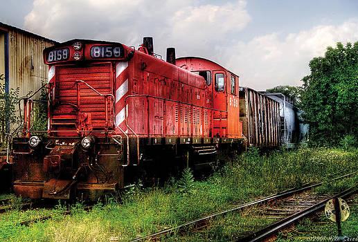 Mike Savad - Train - Engine - 8159 - Flemington NJ - Train 8159