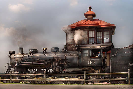 Mike Savad - Train - Engine -The Great Western 90