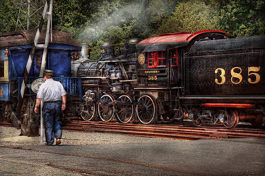 Mike Savad - Train - Steam - The conductors job