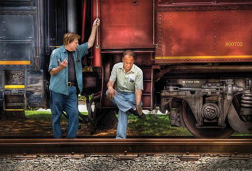 Mike Savad - Train - Yard - Shoot