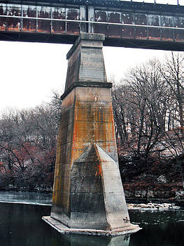 Jon Baldwin  Art - Train Bridge Iowa Falls Iowa