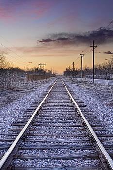 James BO  Insogna - Train Tracks and Color