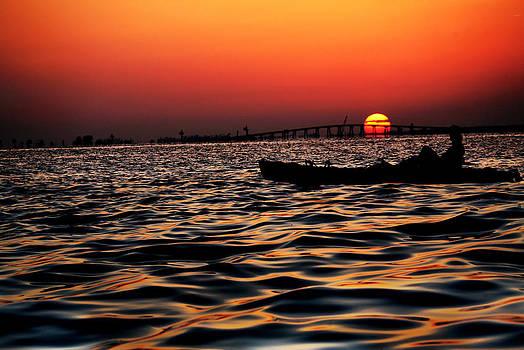 Tranquil Sea by Jalai Lama