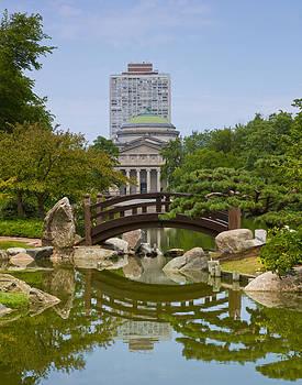Tranquility at Osaka Garden by Orlando Guiang
