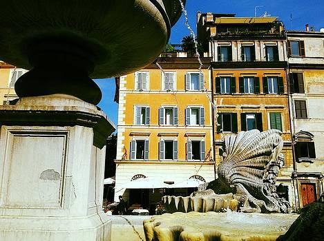 Trastevere Fountain by Shelley Smith