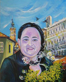 Anna  Duyunova - Travel Notebook. South France.Nice