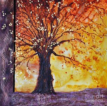 Tree of Hope Life Love by Donna Martin