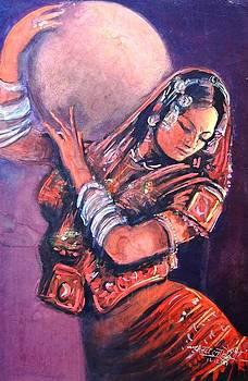 Tribal Woman by Sanjay Lahori