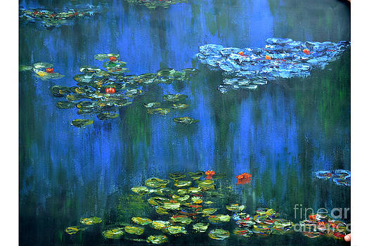 Tribute to Monet 1 by Shankhadeep Bhattacharya