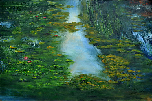 Tribute to Monet 3 by Shankhadeep Bhattacharya