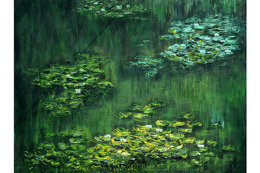 Tribute to Monet 5 by Shankhadeep Bhattacharya