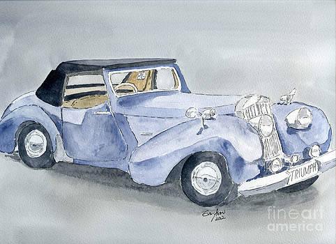 Triumph Roadster 45-49 by Eva Ason