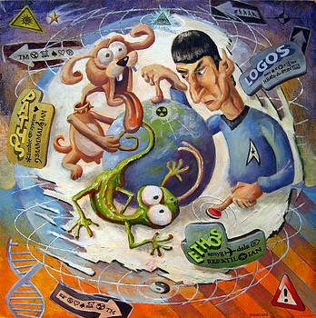 Triune Brain by Michael Stancato