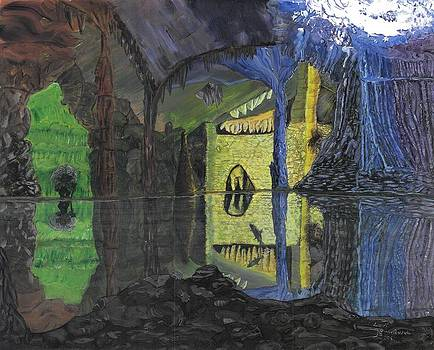 Troll Cave by Lori  Theim-Busch