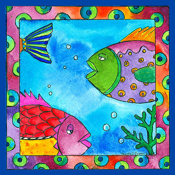 Tropical Fish by Pamela  Corwin