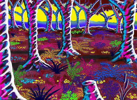 Tropical Punch Forest by Steve Farr