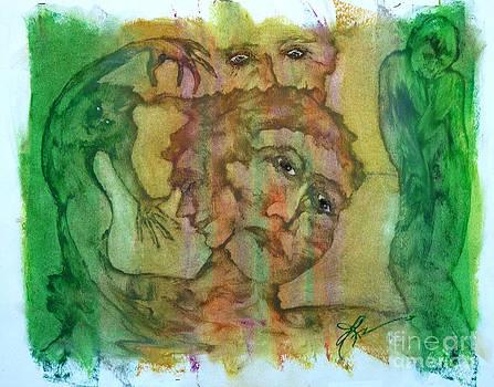 Troubled Dreams by Linda May Jones