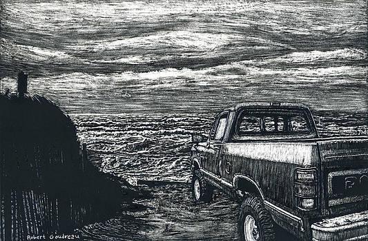 Truck at Nantucket by Robert Goudreau
