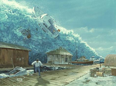 Chris Butler and Photo Researchers - Tsunami
