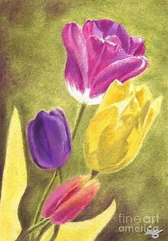 Tulips 2012 by Iris M Gross