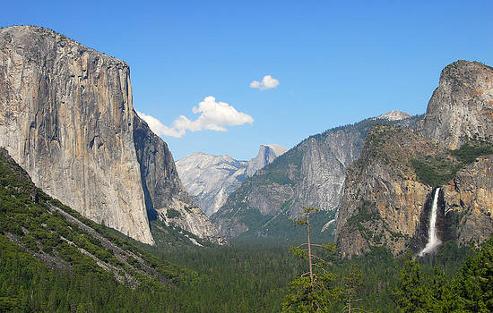 Tunnel view Yosemite National Park by Bhupendra Singh