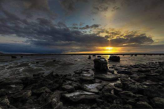 Turnagain Arm Alaska Sunset by Sam Amato