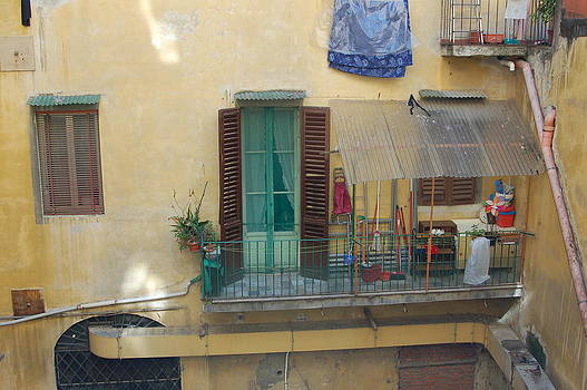 Tuscan Terrace by Barbara Ruzzene