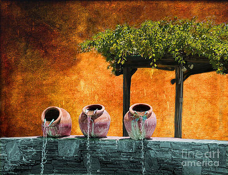 Tuscan Waterpots by Alan Crosthwaite